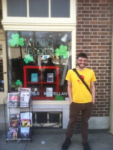 Atomic Books is a wonderful indie bookstore in Baltimore with a comic book slant.